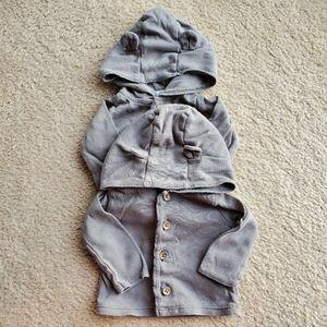 Carters newborn 2 hoodies